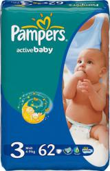pampers act/bab№3 midi 4-9 (62)